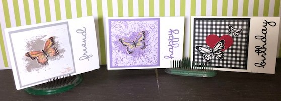 Butterfly Gala and the Butterfly Duet Punch – Very Easy Cards!