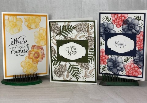 Need a quick Card?  Painted Seasons does the trick!  But hurry Time is almost out!