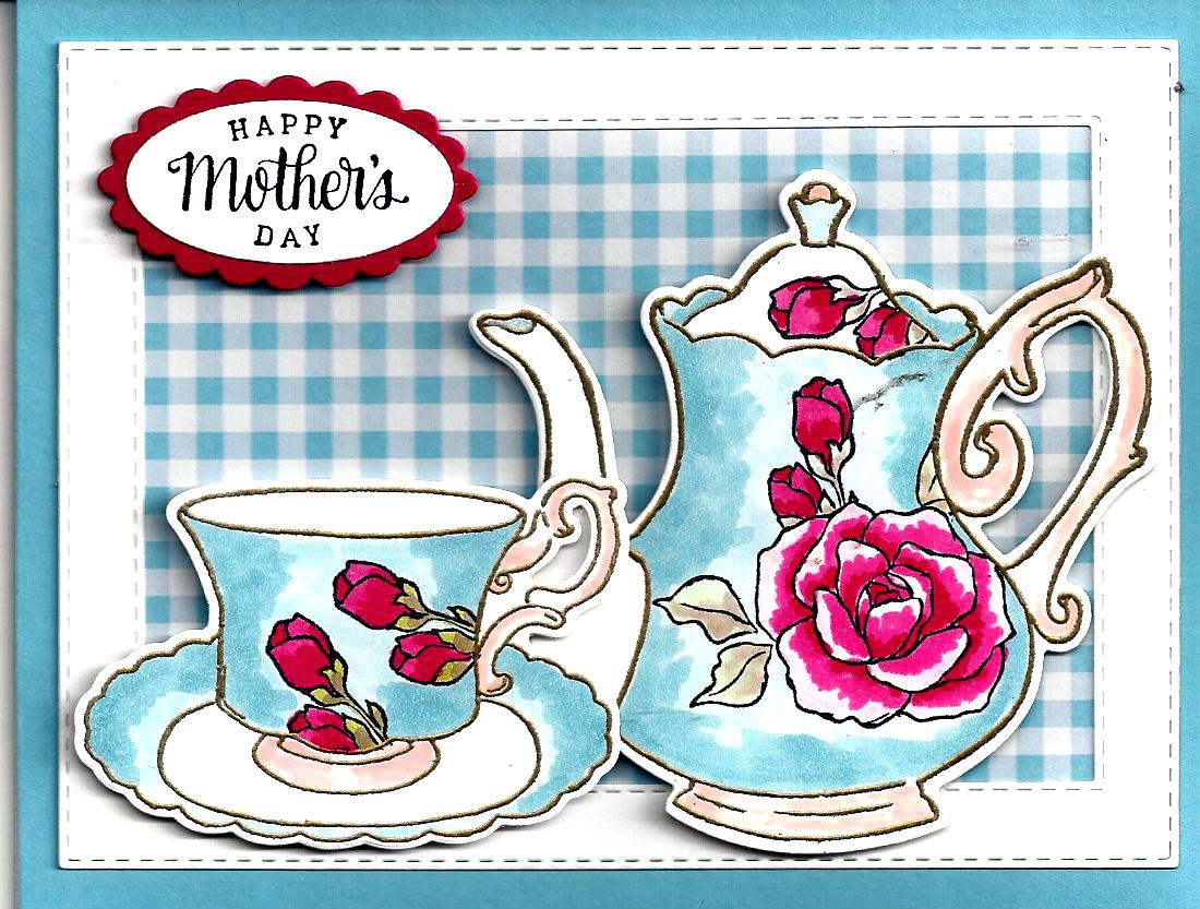 "Mother's Day is over but we could still have ""Tea Together""."